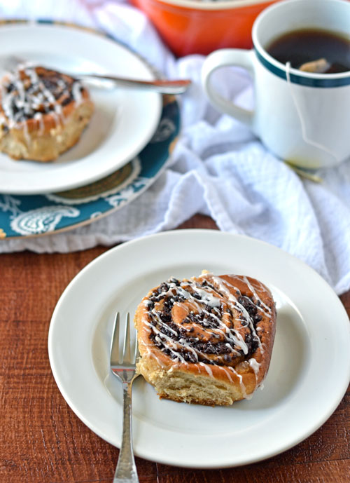 Chocolate Chai Cinnamon Rolls
