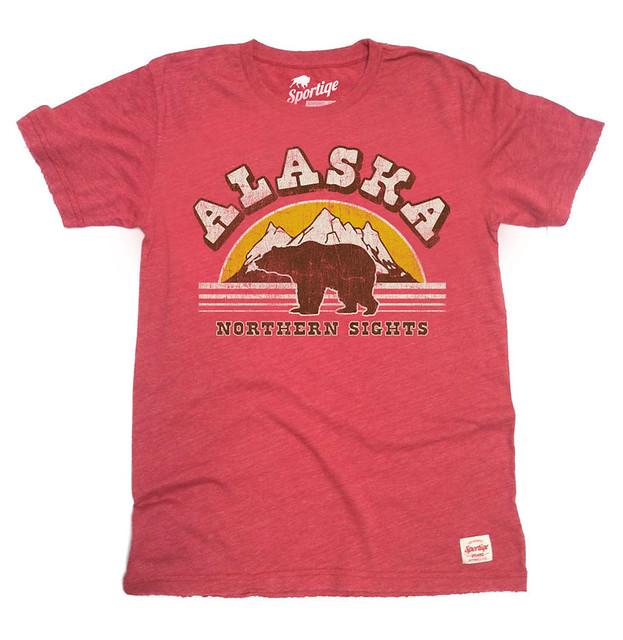 Sportiqe Alaska Northern Sights T-Shirt