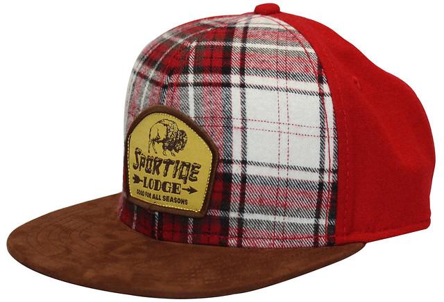 SPORTIQE LOG CABIN HAT