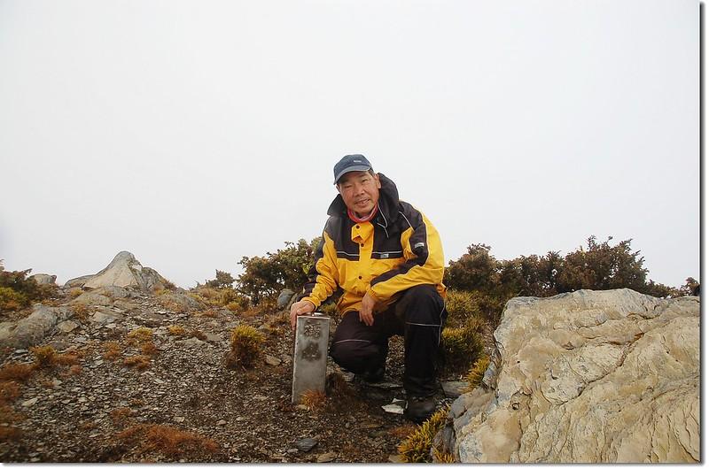 櫧山山頂(Elev. 3437 m) 2