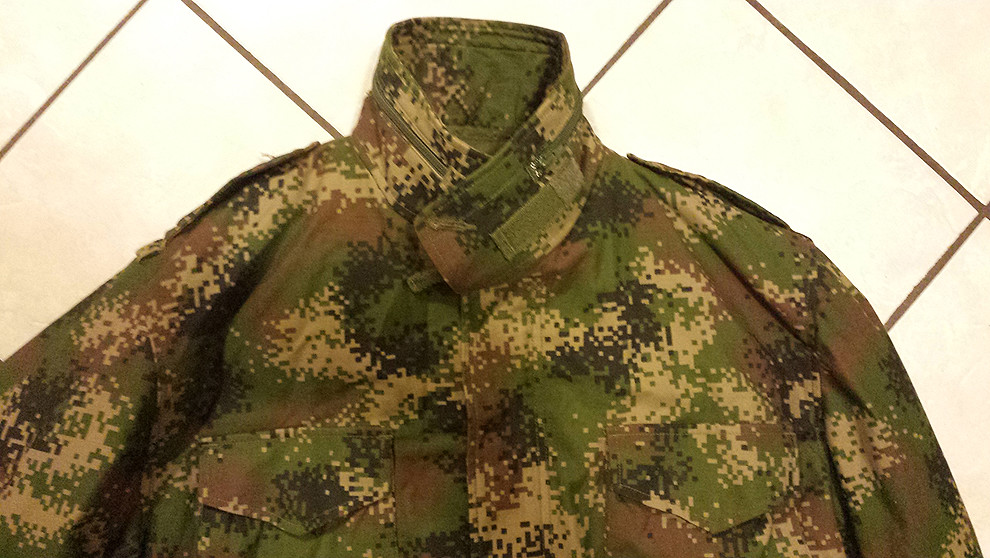 Colombian Digital Camo M65 Field Jacket with Liner 11013421406_e3e58bc14b_b
