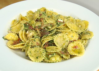 Puglia Egg Pasta, Green Pesto
