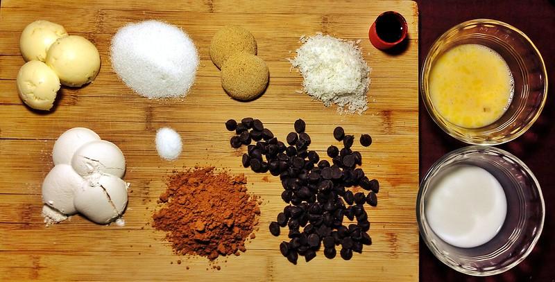 Schmutzie's Chocolate Chocolate Chip Coconut Microwave Mug Cake 1