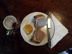 Pork Pie from Hampshire at the Cock Tavern, Mare S…
