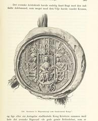 """British Library digitised image from page 557 of """"Danmarks Riges Historie af J. Steenstrup, Kr. Erslev, A. Heise, V. Mollerup, J. A. Fridericia, E. Holm, A. D. Jørgensen. Historisk illustreret"""""""