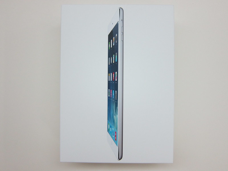 Apple iPad Air - Box Front