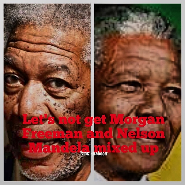 ive seen a lot of post mixing up nelson mandela and