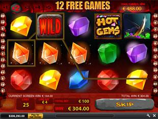 Hot Gems Gamble Feature