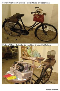 Cargo Bike History: The Professor's Bicycle & The Fortune Teller's Bicycle