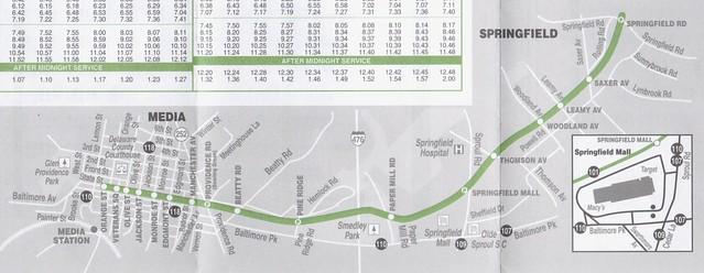 SEPTA 2012 101 Map 2