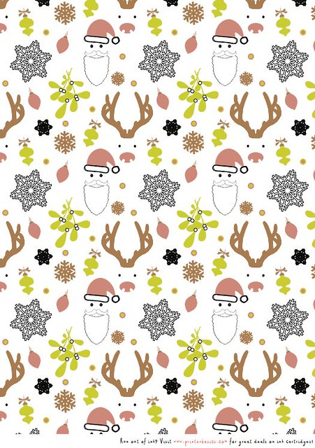Printable Christmas wrapping paper | Flickr - Photo Sharing!