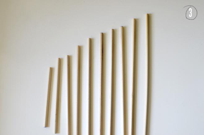 diy: wooden tree