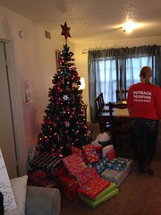 Elves In Disguise 2013: The family's first Christmas tree.