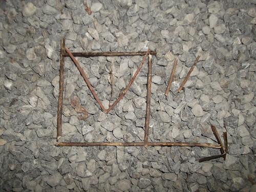 Bodenzeichen