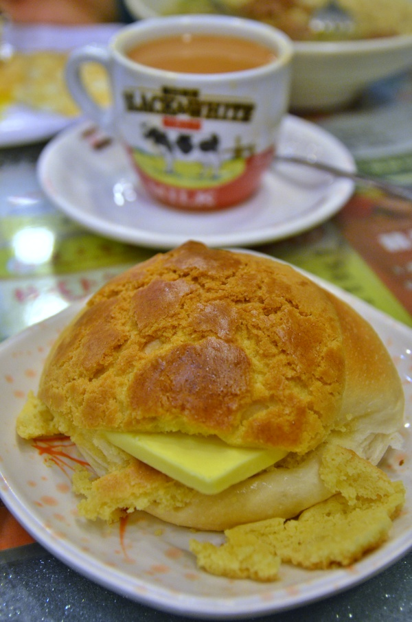 Fresh Polo Bun @ Hong Lin, Mong Kok