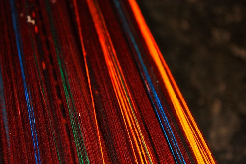 dyed thread