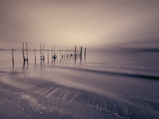 Stefano Montagner - The life... - winter sea in Jesolo