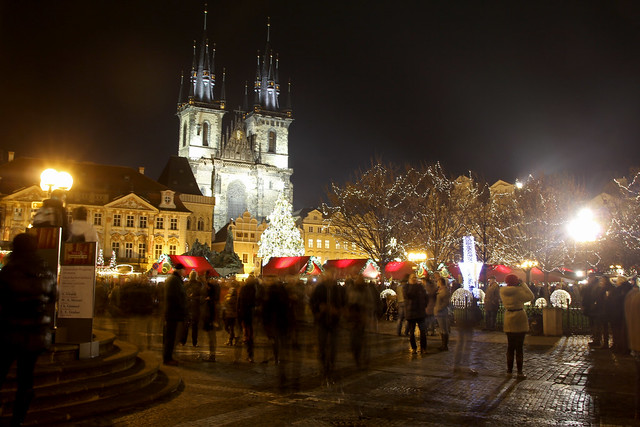 Christmas Market, Prague Old Town