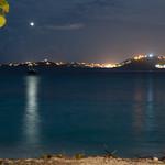 Scott Beach at night