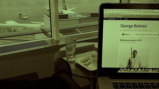 George Buhnici Aeroport