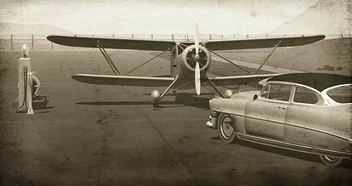 Vintage airport