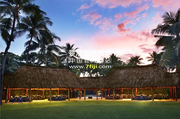 斐济威斯汀水疗度假酒店室外宴会