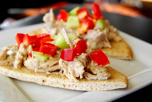 Slow-Cooker Greek Chicken Pitas