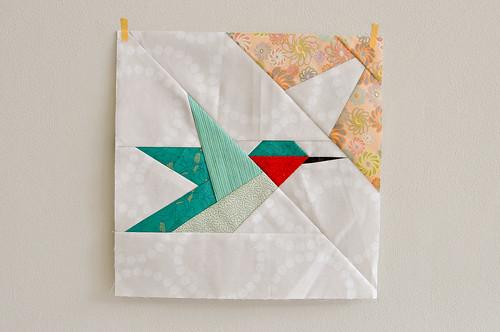 Katrina's Hummingbird block