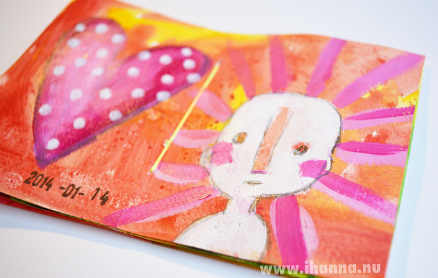 January Mini Book: Heart & Shining Ghost Man