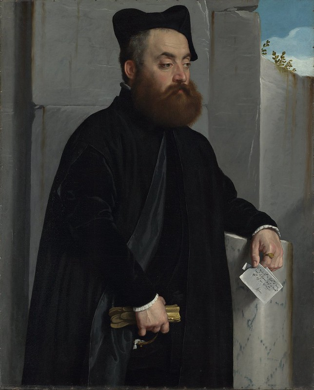 Giovanni Battista Moroni - Canon Ludovico di Terzi