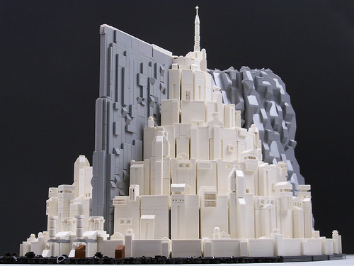 Minas Tirith Cake Instructions