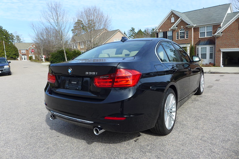 bmw f30 wash and wax