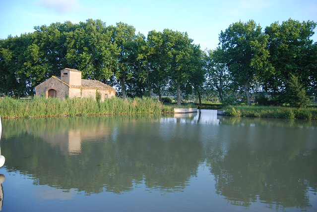 An evening on the Canal De Midi