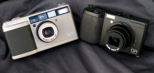 Family ties: Ricoh GR1 & GR Digital
