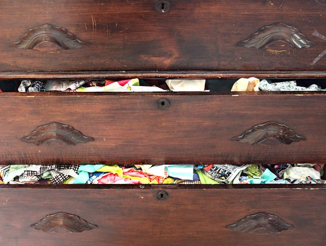 Fabric Scrap Drawer