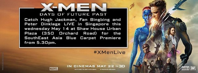 SEA Premiere X-Men: Days of Future Past