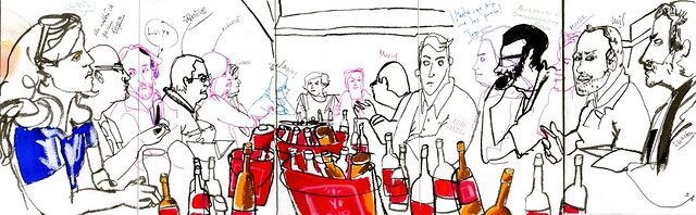 Sketchcrawl Picassiano en Málaga