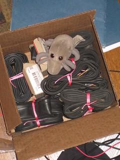 Dust Mite & box-o-tubes