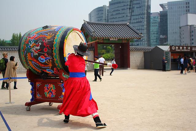 Drummer - Gyeongbokgung Palace - Seoul