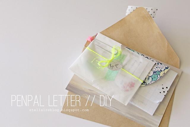penpal letter diy