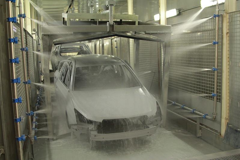 Завод General Motors в Шушарах - окраска