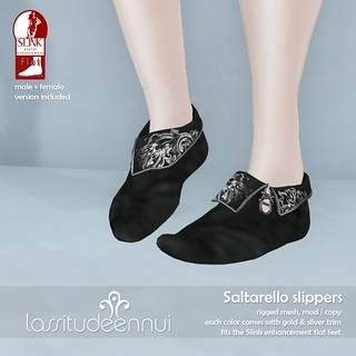lassitude & ennui Saltarello slippers for We <3 RP