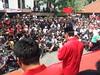 Prof. Hamka Haq sedang baca doa pd acara Deklarasi pasangan Jokowi - Jusuf Kalla di Gedung Juang 45 Jakarta 19 Mei 2014