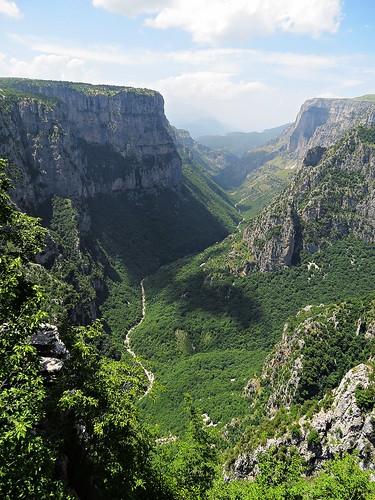 landscape scenery zagori northernpindosnationalpark