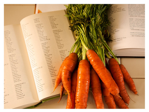 Planning How to Use Fresh Organic Carrots