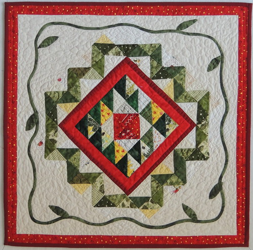 Liz' quilt finished