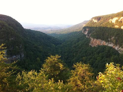 mountains nature georgia canyon