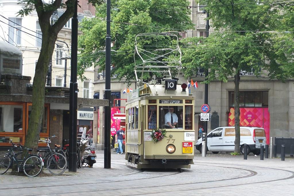 Lijn buitenhof tram in den haag explore gerard stolk