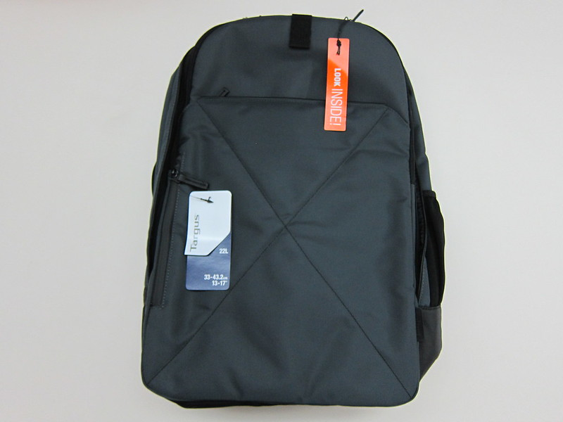 Targus T-1211 13-17 Backpack - Front