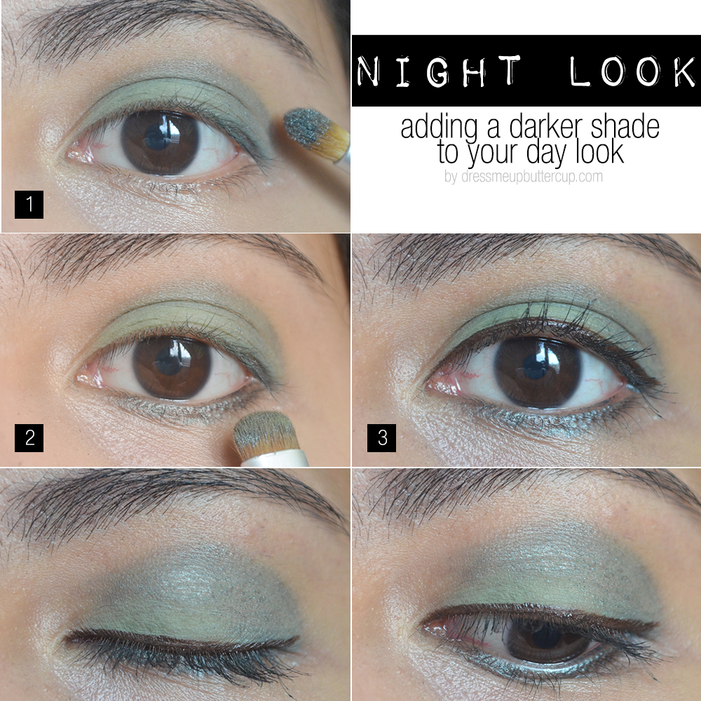 How To Wear Green Eyeshadow